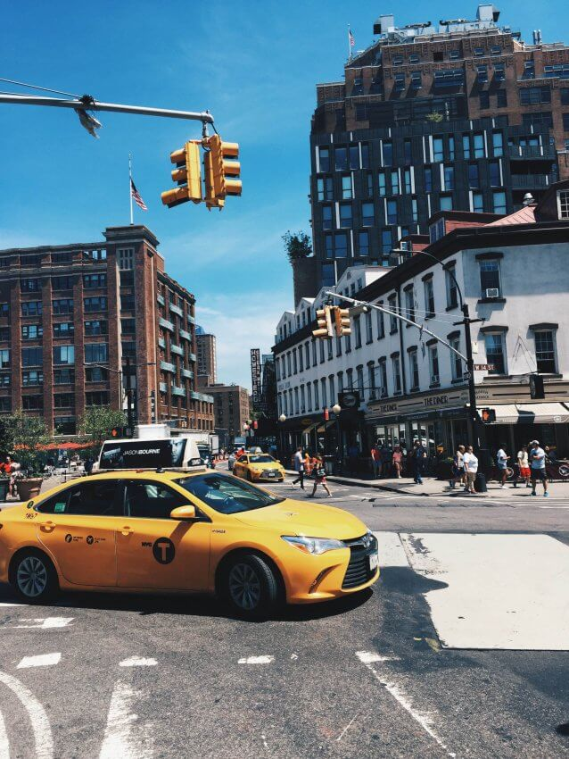 Yellow Cab im Meatpacking District