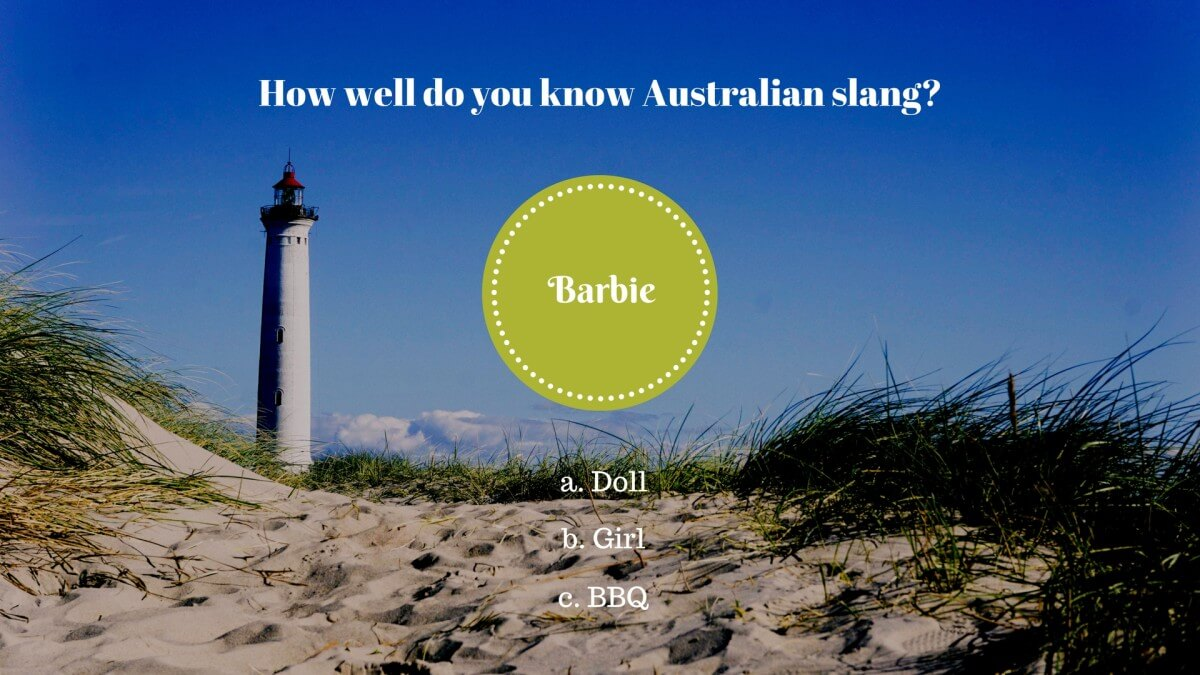 3 – Was bedeutet «Barbie» in Australien?