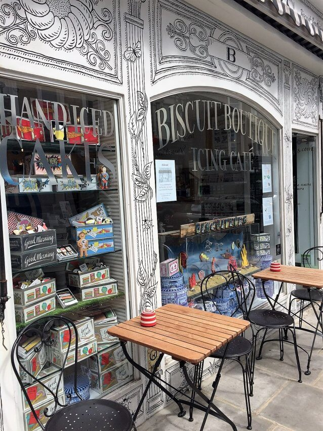 Biscuit Boutique in Notting Hill