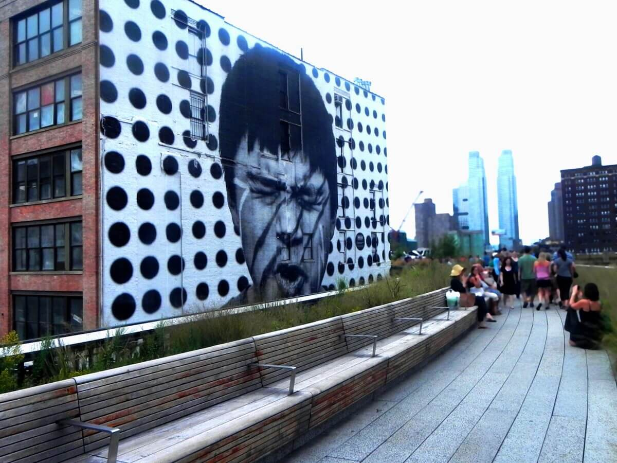 Im Westen Manhattens: Highline in New York