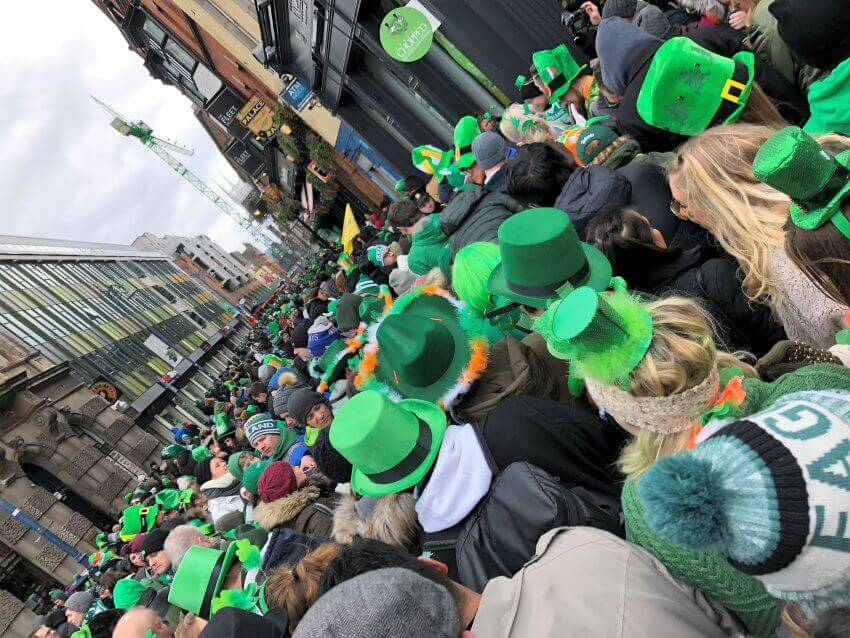 Irland pur: St. Patrick's Day-Parade