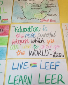 Education is the most powerful weapon which you can use to change the world - Nelson Mandela