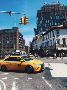 Yellow Cab dans le Meatpacking District