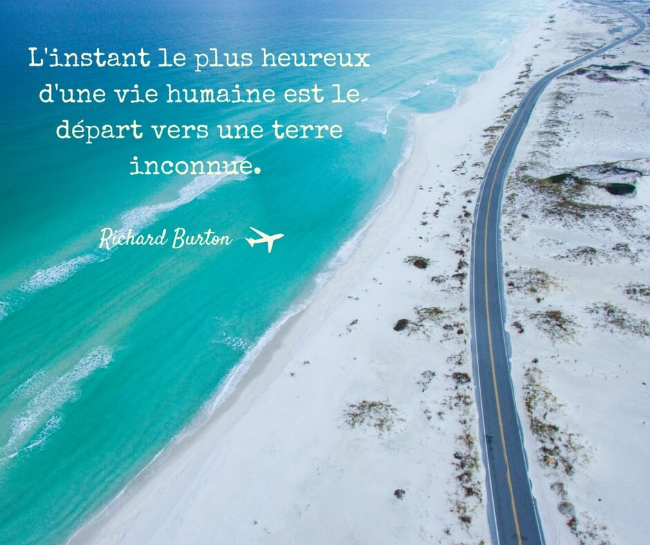 Citation de voyage