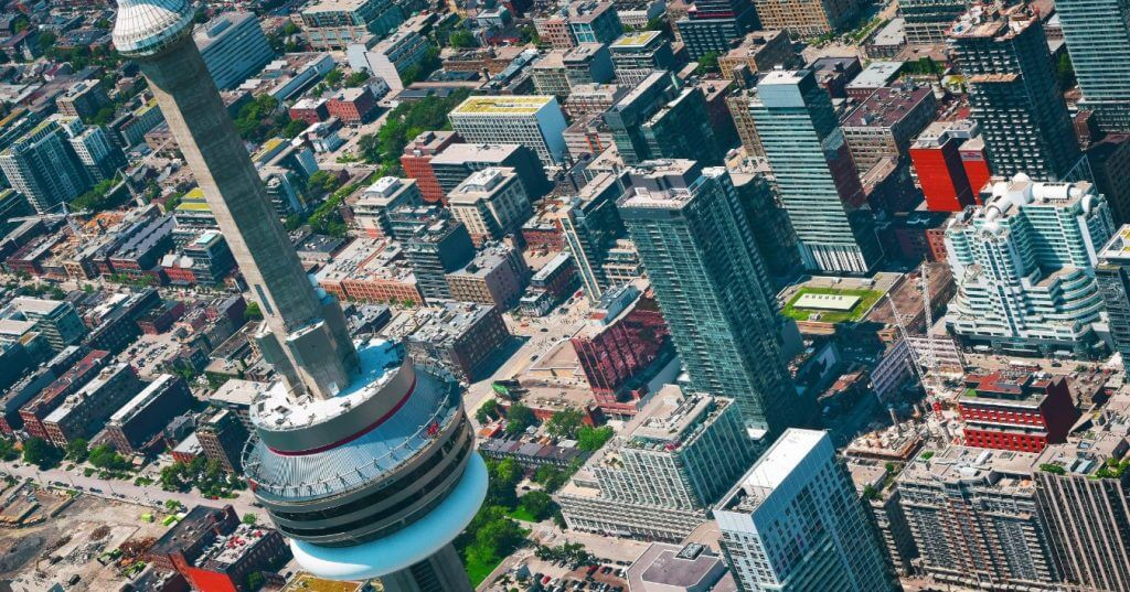 Toronto... from the sky