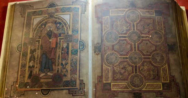 La reproduction du Book of Kells