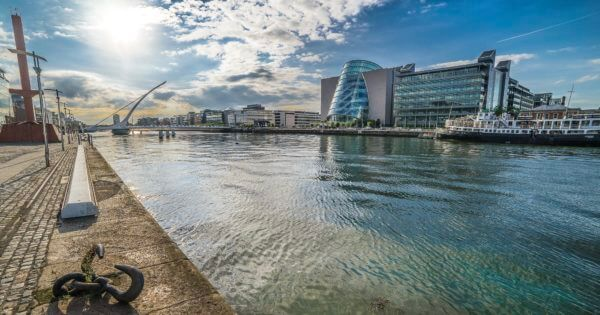 Le quartier tendance de Grand Canal Dock